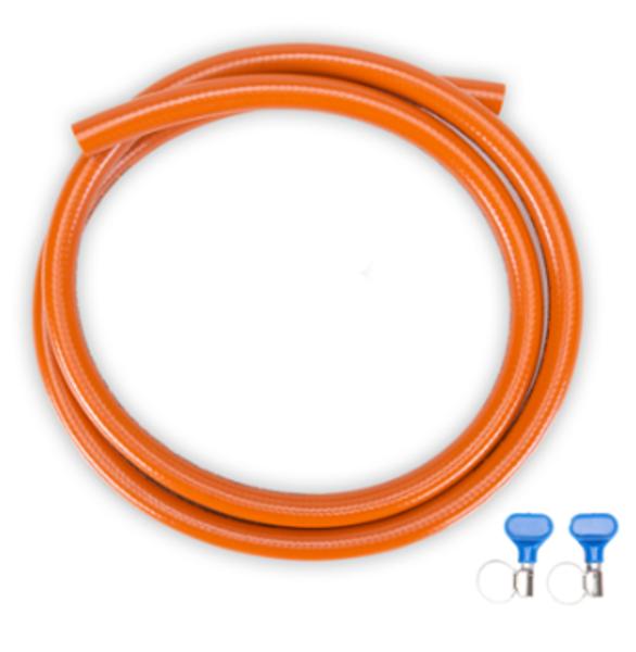 Gimeg HD gasslang met 2 slangklemmen