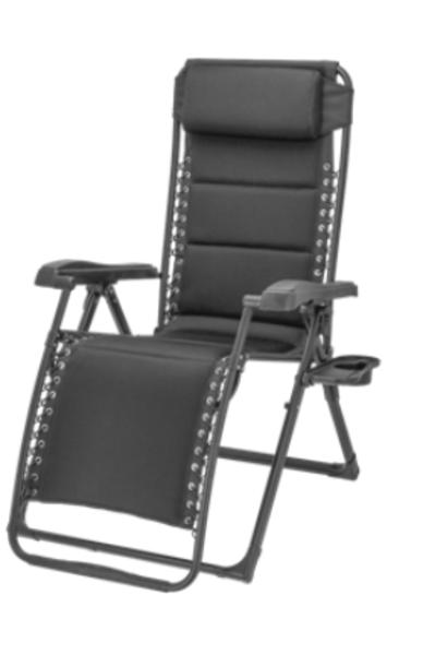 Travellife Barletta Relax stoel grijs