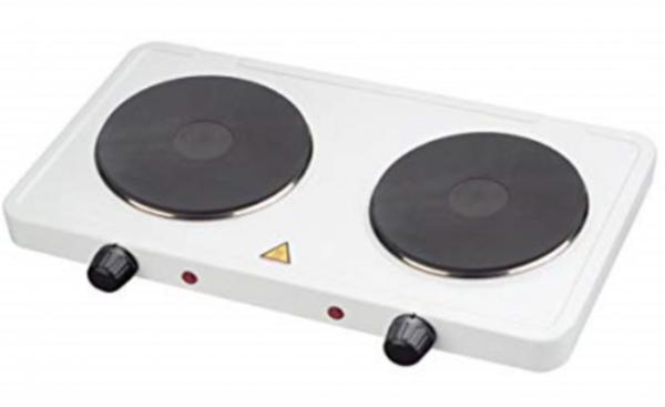 Kampa Electrisch kooktoestel 2x 1000 Watt